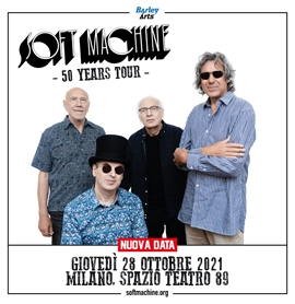 SOFT MACHINE **Nuova data!**