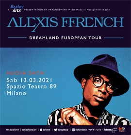 ALEXIS FFRENCH - annullato!
